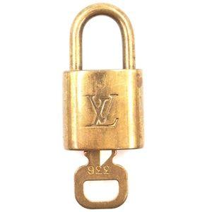Lock Keepall Speedy Alma Brass and Key Set #336